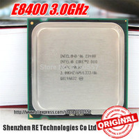 Wholesale Original intel cpu Core Duo E8400 Processor Ghz M MHz Dual Core Socket tested100 working