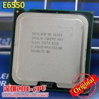 Wholesale E6550 Desktop Intel Core Duo Cpu E6550 GHz MB MHz processor LGA scrattered pieces