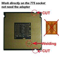 Wholesale XEON x5260 CPU GHz MB MHz LGA775 Processor Close to E8400 E8500 E8600 works on LGA775 mainboard no need adapter
