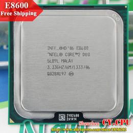 Gros-Pour Intel Core 2 Duo E8600 CPU Processeur (3,33 / 6M / 1333GHz) Socket 775 Livraison gratuite