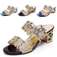 aa butterfly - New fashion rhinestone cut outs women sandals Square heel Party summer shoes woman high heel sandals with Butterfly L5