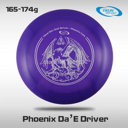 Wholesale Professional Yikun Disc Golf Driver Phoenix Line Violet Da E PDGA Approval