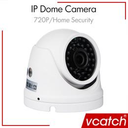 Vidéos hd ir gratuits en plein air en Ligne-Appareil Photo Livraison en gros sans sécurité IP ONVIF 720P 1.0MP Mini Sécurité extérieure étanche IP HD boîtier en aluminium IR CCTV Dome Vidéo