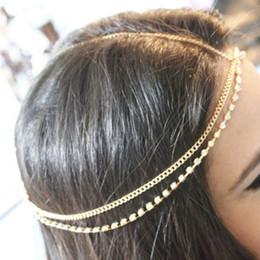 Wholesale New pc Bohemia Style Pretty Rhinestone Studded Head Chain Headband Headpiece