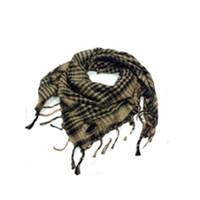 arab neck scarf - Fashion Unisex Checkered Arab Shemagh Grid Neck Keffiyeh Palestine Scarf Wrap Colors