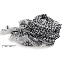 arafat scarves - New Military Shemagh Scarf Arab Chequered Arafat Keffiyeh Tactical Desert Wrap