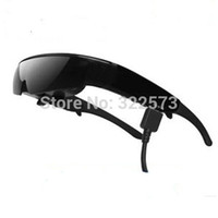 av goggles - Inch D Video Glasses Goggles P HMD Portable Personal Cinema Theater Support AV input and VGA input Computer Glasses