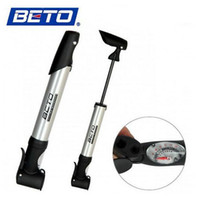 bicycle pump head - New Arrival BETO Cycling Bike Bicycle Hand Pressure Telescoping Inflator Tire Pump Auto Head Fits