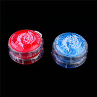Gros-1pc LED clignotante Glow Light Up YOYO Party Colorful Yo-Yo Toys For Kids Boy Toys Gift Date