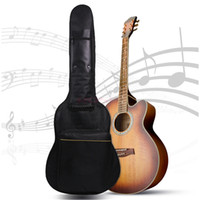 acoustic gitar - Portable Waterproof Guitar Gig Bag Carry Case For Electric Acoustic Gitar Bass FULL SIZE PADDED Shoulder Protect Instrument Bag