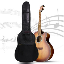 Wholesale Portable Waterproof Guitar Gig Bag Carry Case For Electric Acoustic Gitar Bass FULL SIZE PADDED Shoulder Protect Instrument Bag