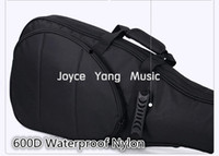 Wholesale Astraea Black Electric Guitar Bag D Nylon Oxford mm Thick Sponge Electric Guitar Soft Case Gig Bag