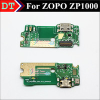 Cheap Wholesale-New Mirco USB Plug Charge Board connector with Microphone For ZOPO ZP1000 8510 Smart Cell phone Free Shipping