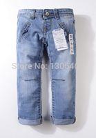Wholesale New children s jeans cotton Denim kids jeans girls pants baby trousers size t T T T T T
