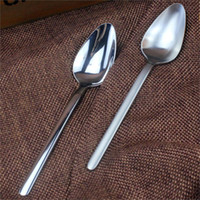 Wholesale European and American orders stainless steel spoon scoop dessert spoon coffee spoon fed children