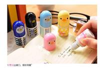 Wholesale Happy adorable little yellow duck mini correction fluid study stationary