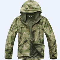 atacs fg - Atacs FG Windbreaker Jacket Military Outdoor Sports Jacket Soft Hard Shell Windproof Jacket Coat