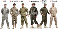 Cheap Camouflage Military Tactical Airsoft Paintball War Game BDU Clothes Combat Uniform Shirt & Pants Multicam Suits