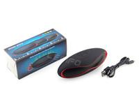 Wholesale Mini X6U Bluetooth Speaker Supports TF Card USB Aux FM Radio Built in Mic Handsfree Portable Mp3 Wireless Subwoofer New