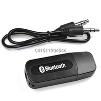 Wholesale USB Wireless Bluetooth mm Music Audio Car Handsfree Receiver Adapter
