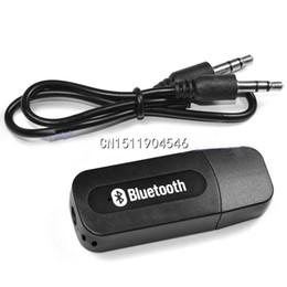 Wholesale USB Wireless Bluetooth mm Music Audio Car Handsfree Receiver Adapter