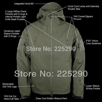 best hunting coat - TAD V Men Outdoor Hunting Camping Waterproof Coats Jacket Blazer Army Outerwear Military Hoodie Army Green S M L XL XXL Best