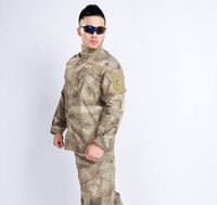 acu camo shirt - A TACS CAMO ACU FIELD UNIFORM SET SHIRT PANTS