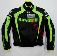 bat motorcycles - New arrival men jacket KAWASAKI winter automobile race clothing motorcycle clothing thermal removable liner flanchard