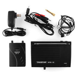 Wholesale mini TAKSTAR In Ear Professional Stage Wireless Monitor System Receiver Earphone cable SNR Sensitivity
