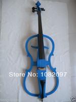 cello electric cello - Cello New Electric Cello Solid Wood Silent String Blue White Black