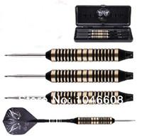Wholesale Indoor Exercise Steel Needle Tip g Dart Nickel BK Hard darts Flights Box