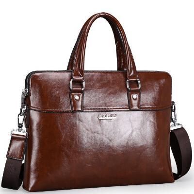 Men'S Pu Leather Briefcases Bags Designer Handbags Handy Mens ...