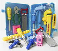 Wholesale Much In One Cartoon Tools Set Children s Pretend Play Toys Novelty Baby Tool Toys