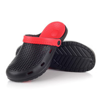 Wholesale New Men summer hole shoes clogs garden shoes EVA beach sandals and slippers men rainning causual shoes solid shoe