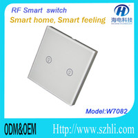 Wholesale Smart touch switch VAC Hz RF light switch for residential lighting
