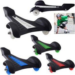 Wholesale-fashion Scooter trigonometric skate board tricycle vigor board adult skateboards three wheel scooter electric skateboard