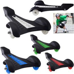 Wholesale fashion Scooter trigonometric skate board tricycle vigor board adult skateboards three wheel scooter electric skateboard