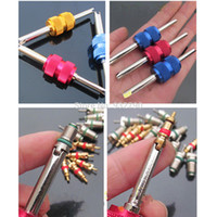 auto ac repairs - pk Car Auto Motorcycle Tire Valve Stem Core Sizes Remover Repair Install Tool Air conditioning AC A C a Valve Core Wrench