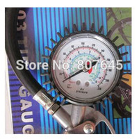auto inflating tires - tire gauge Auto Air Compressor Tire Tyre Inflating Inflator Tool Pressure Dial Gauge