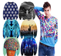 adventure time cover - New style spring Harajuku Adventure Time Men Sweatshirts Print UP Flying House Punk pullovers Hoodies Casual
