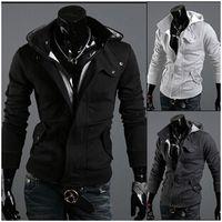 Wholesale Winter fashion Men coat Mens casual good Jacket Coat Men Clothes Cardigan Style Jacket Colors Size M XXXL