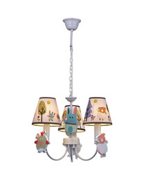 Wholesale Lights Animal Theme Chandelier LED Light For Children s Room Lampfair MD91393