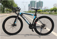 Wholesale New Arrival Inch Speed Fixed Gear Mountain Bicycle Carbon Steel Muscular Frame Complete Race Bicycle Road Bike