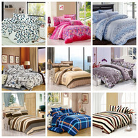 Wholesale bedding set family cotton bedding set bed sheets duvet cover king size linens colcha de cama bedspread no comforter