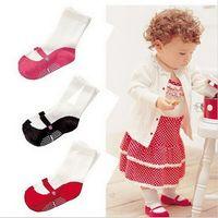 baby walking age - Cute Useful Mini Footgear Ballet design Baby Kids Non Slip Socks For Chidren Walking skidproof for age months