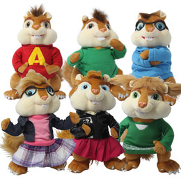 Wholesale Special Offer Sale Freeshipping Backpacks Alvin And The Chipmunks Male Female Doll Plush Toys Gift