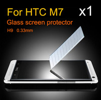 applied films - mm tempered glass screen protector film M7 applies to HTC ONE M7 T explosion proof membrane