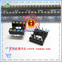 amp ic sockets - P foot hole op amp socket DIP8 IC socket round pin DIP IC socket pin hole seat