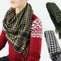 arab head wear - Best Selling Newest Arab Shemagh Shawl Scarves Military Tactical Head Face Mesh fro Unisex Wear