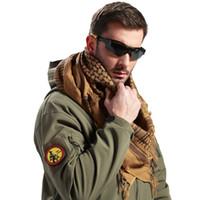 arab style scarves - Army Military Tactical Unisex Arab Shemagh KeffIyeh Shawl Scarve Scarf Wrap Thin Style